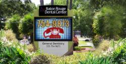 Baton Rouge Dental Center LED Signs