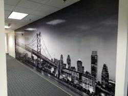 Large Format Digitally Printed Wall Vinyl