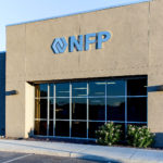 NFP storefront sign