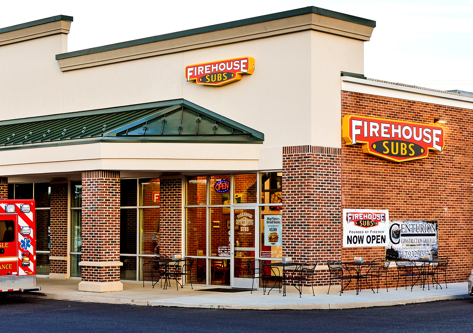 Firehouse Subs Sign