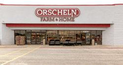 old Orscheln Farm & Home sign