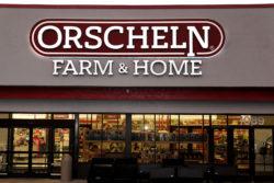 Orscheln Farm & Home storefront sign