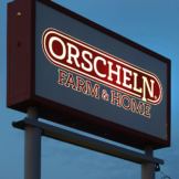 Orscheln Farm and Home Sign