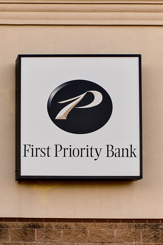 First Priority Bank Sign