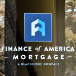 Finanace of America Mortgage Door Sign