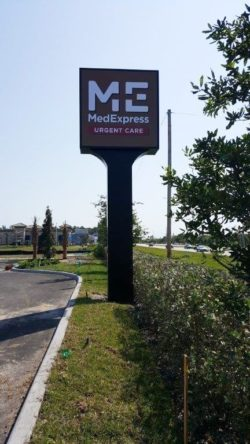 Completion Photo 2 Freestanding Pylon Sign