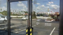 People Ready Door Vinyl