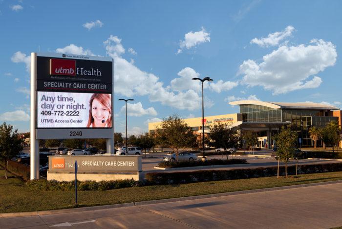 UTMB Health LED Signs