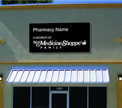 Pharmacy signage design