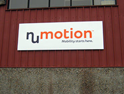 NuMotion Pan Sign