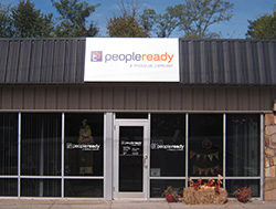 PeopleReady Pan Sign