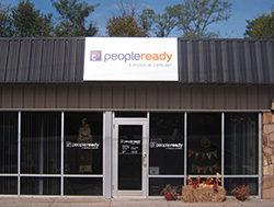 PeopleReady Pan Sign