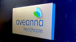 Aveanna Healthcare Routed Sign