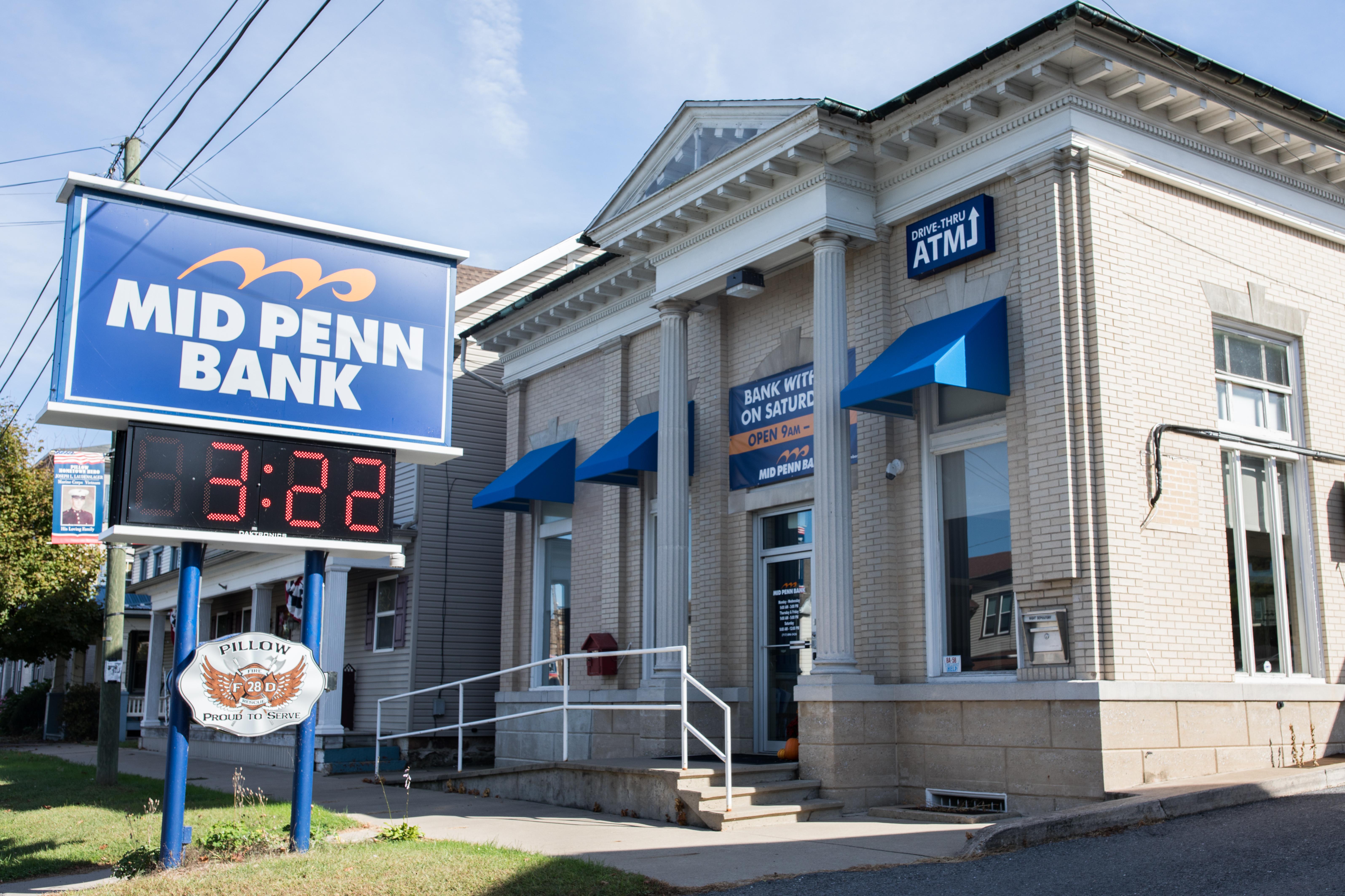 Successful rebranding of Mid Penn Bank by Egan Sign