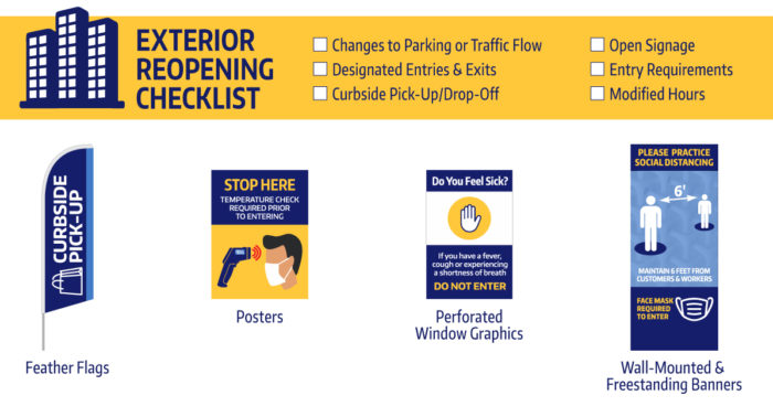 Reopening Exterior Checklist