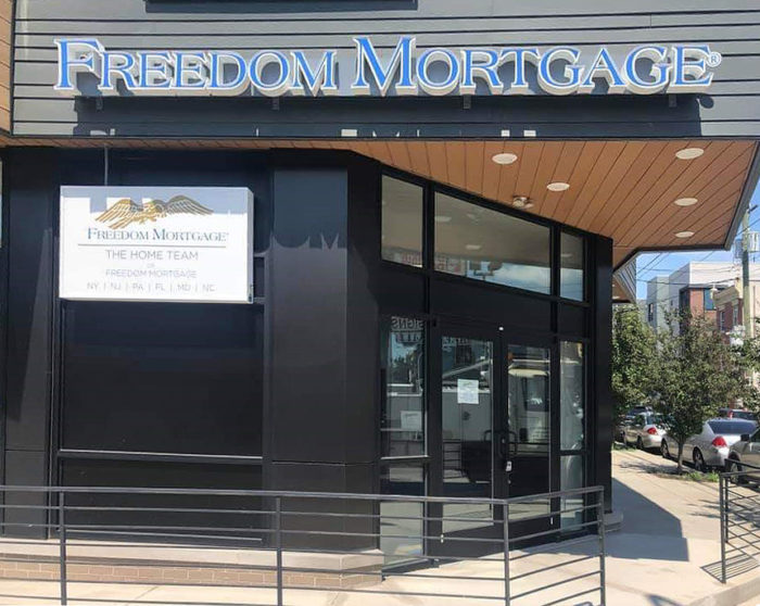 Freedom Mortgage Signage