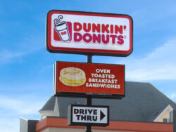 Dunkin' Donuts Advertises Their Latest Products with an EMC