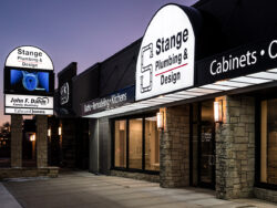 Stange Plumbing & Design Advertises Promotion and Products on Their EMC