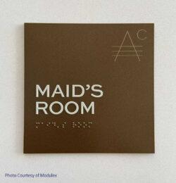 Maid's Room - ADA Room ID