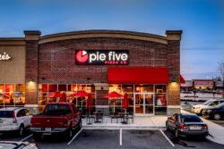 Pie Five Franchise Signs